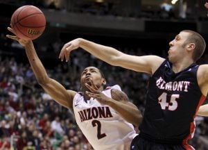 NCAA tournament West region: No. 6 Arizona 81, No. 11 Belmont 64: Something to prove