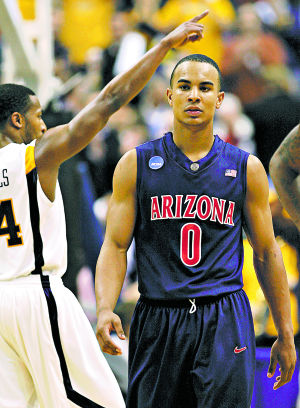 Arizona's Numbers Game: Basketball: Zero hour: Arenas, Bayless tip off series