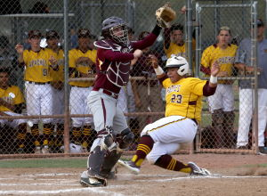 High school baseball: Nogales battles back to top Oklahoma school