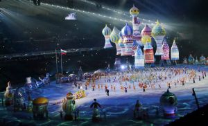 Rusia inaugura los Juegos de Sochi con orgullo