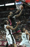 NBA Finals Heat 109, Spurs 93 Miami's Big Three come up big