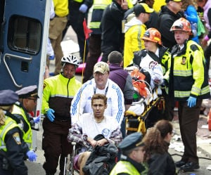 Photos: Explosions at 2013 Boston Marathon