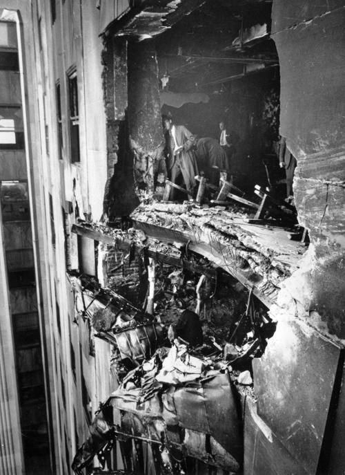 This hole in the...B 52 Crash Empire State Building