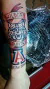UA fan tattoos