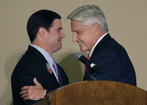 DuVal, Ducey make stops in Tucson