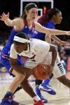 UA vs. Kansas womens basketball