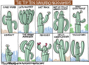 Last Laugh Saguaro Nicknames