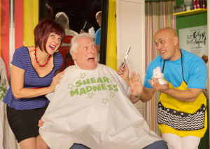 "Invisible Theatre cuts up with ""Shear Madness"""