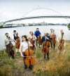 Portland cellists at the fox