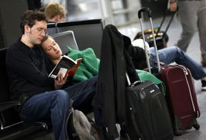 Photos: Thanksgiving travel woes