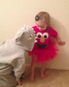 Shark and Elmo