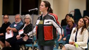 Schools chief Diane Douglas gets earful in Tucson