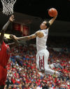 Texas Tech vs. Arizona men's college basketball