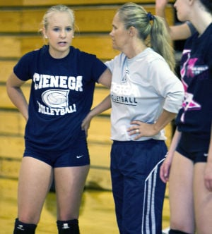 HS volleyball: family affair assisting in Bobcats' recovery