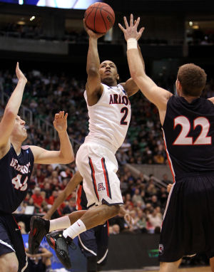 Arizona Wildcats beat Belmont 81-64 in NCAA tournament