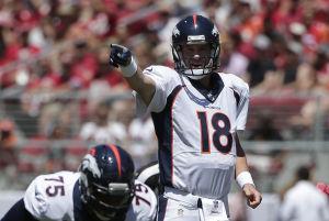 Broncos, favoritos de nuevo en Oeste de Americana