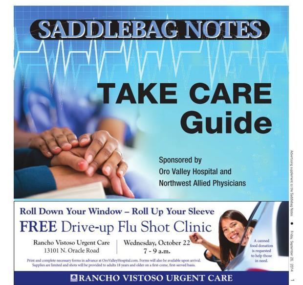 2014 SaddleBag Notes Take Care Guide