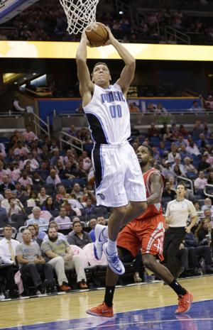 Photos: Ex-Cat Aaron Gordon in preseason NBA
