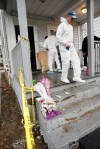 Mass. man decapitates sister, kills another before being slain by police