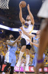 NBA playoffs Warriors finish off No. 3 seed Nuggets