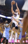 NBA playoffs: Warriors finish off No. 3 seed Nuggets