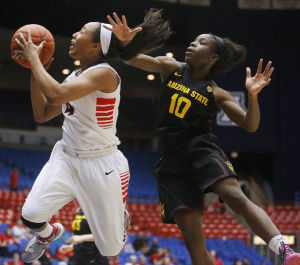 Photos: Arizona vs Arizona State women's college basketball