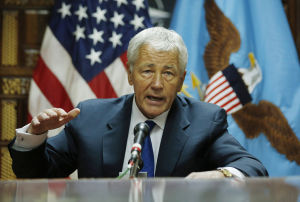 Afghan realities visible on Hagel's initial trip