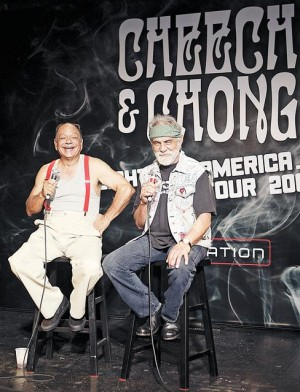 Cheech & Chong pick up right where they left off