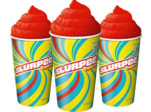 Free Slurpees for 7-Eleven Day until 7 p.m.