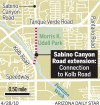 Sabino Canyon Road extension