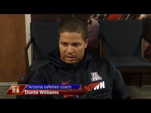 Get to know UA safeties coach Donté Williams