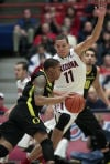 Arizona-Oregon basketball