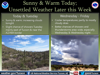 Tucson weather: Sunny and warm, above normal temps