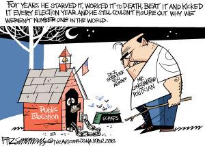 Fitz fix: Public Ed