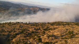 Wildfire northeast of Tucson grows to 130 acres