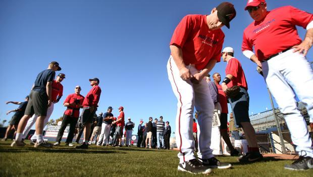 Photos: University of Arizona baseball alumni day