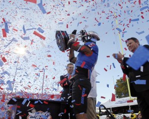 Las Vegas Bowl: Boise St. 28, Washington 26: Boise State happy to be there, happier to come away with win
