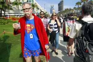 Photos: Superman a big draw at Comic-Con