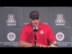 Rich Rod press conference after UNLV