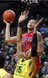 Arizona vs. Oregon college basketball
