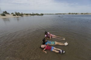 Now mostly barren, Colorado River Delta once teemed with life