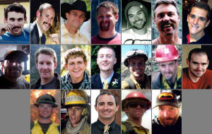 Yarnell Fire: Granite Mountain Hotshots victims