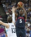 Men's basketball USA 109, Argentina 83 Big second half puts US in final