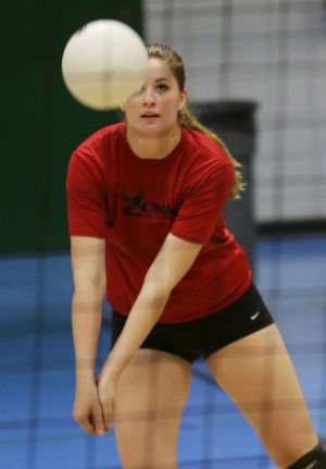 Waters has Hawks volleyball nearing new heights
