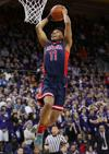 Arizona Wildcats take 44-38 halftime lead over Washington