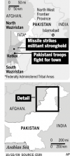 Fight focuses on Taliban chief's hometown