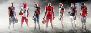 Photos: Arizona's new football uniforms