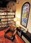 Church library preps for unusual book sale
