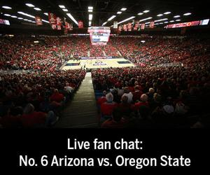 Fan chat transcript: Arizona vs. Oregon State basketball