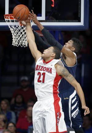 UA Wildcats come back to beat UC Irvine 71-54